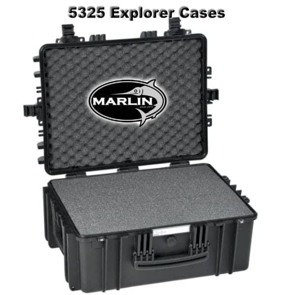 5325 Explorer Cases schwarz Schaumstoff