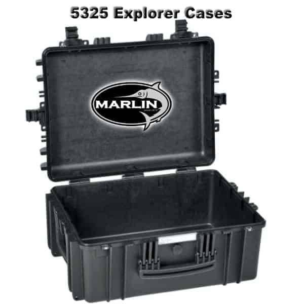 5325 Explorer Cases schwarz leer