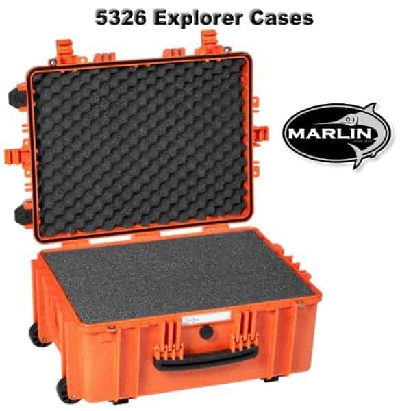 5326 Explorer Cases orange Schaumstoff