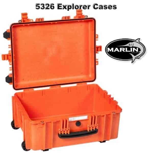 5326 Explorer Cases orange leer