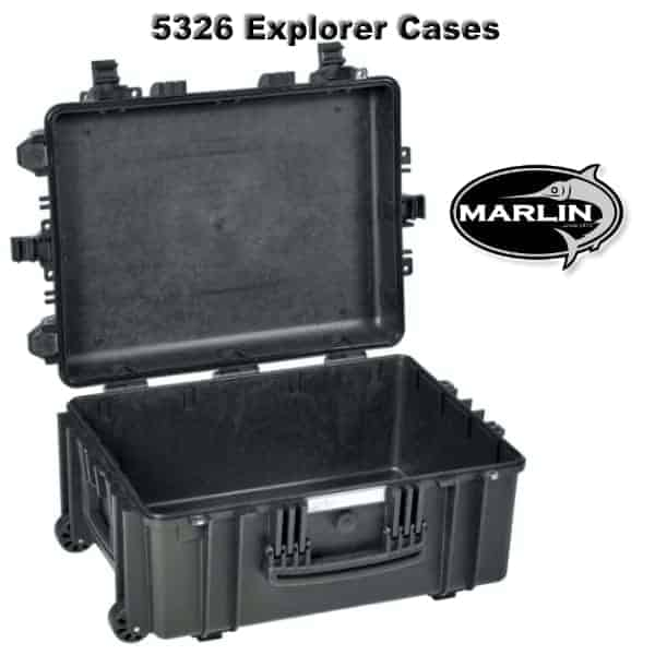 5326 Explorer Cases schwarz leer