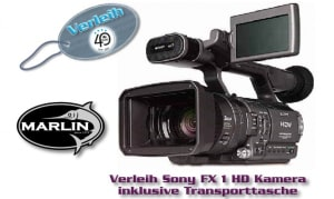 Verleih Sony FX 1 HD Kamera