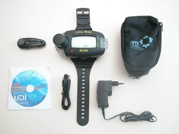 Verleih Tauchcomputer Udi Set-1401