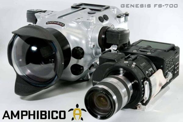 Amphibico Genesis für Sony Nex-FS700-3