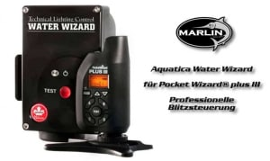 Aquatica Water Wizard, Professionelle Blitzsteuerung für Pocket Wizard® plus III