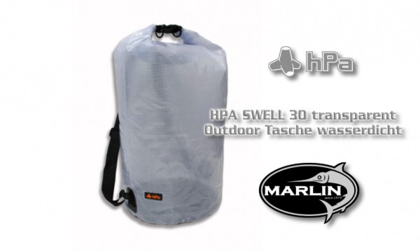 HPA SWELL 30 transparent, Outdoor Tasche wasserdicht.