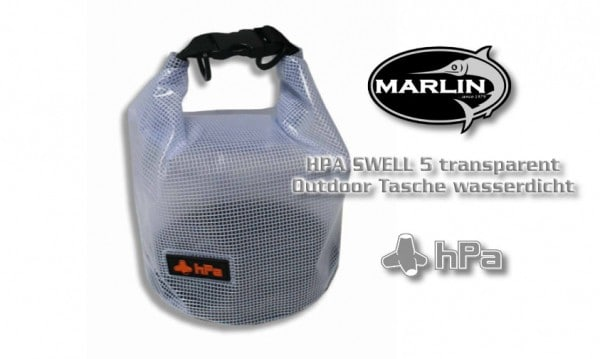 Outdoor Bag | HPA SWELL 5 transparent | 5 Liter Fassung