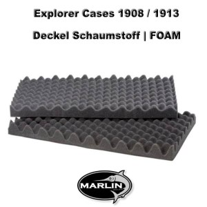 Explorer Cases 1908 Lid FOAM 1913