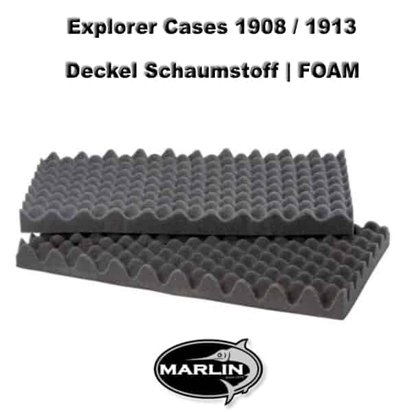 Explorer Cases 1908 Deckel FOAM 1913
