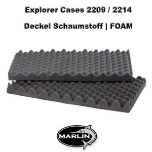 Explorer Cases 2209 Lid FOAM 2214