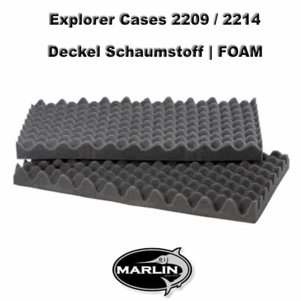 Explorer Cases 2209 Deckel FOAM 2214