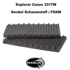 Explorer Cases 3317W Lid FOAM