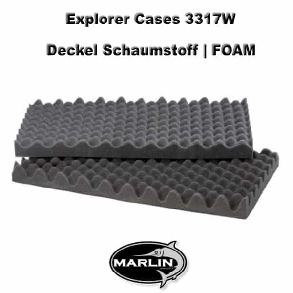 Explorer Cases 3317W Deckel FOAM
