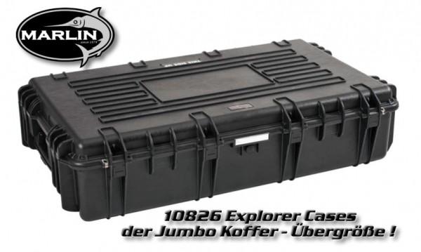 10826 Explorer Cases, Jumbo Koffer mit Übergröße