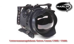 Underwater Housing Gates Canon C300