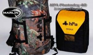 Wasserfester Fotorucksack mit Innentasche