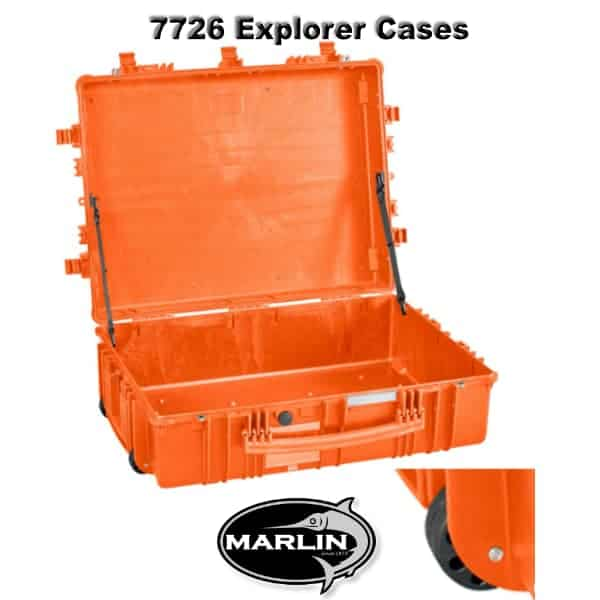 7726 Explorer Cases orange leer