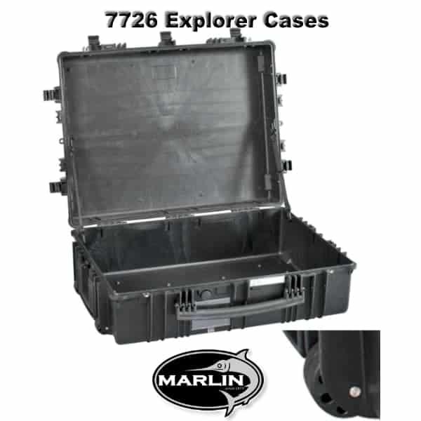 7726 Explorer Cases schwarz leer
