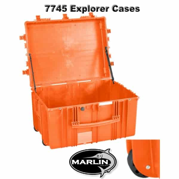 7745 Explorer Cases orange leer
