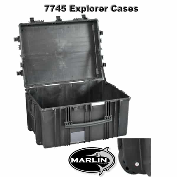 7745 Explorer Cases schwarz leer