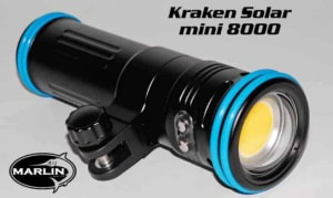 UW Video Leuchte Mini Flare 8000 Kraken Solar
