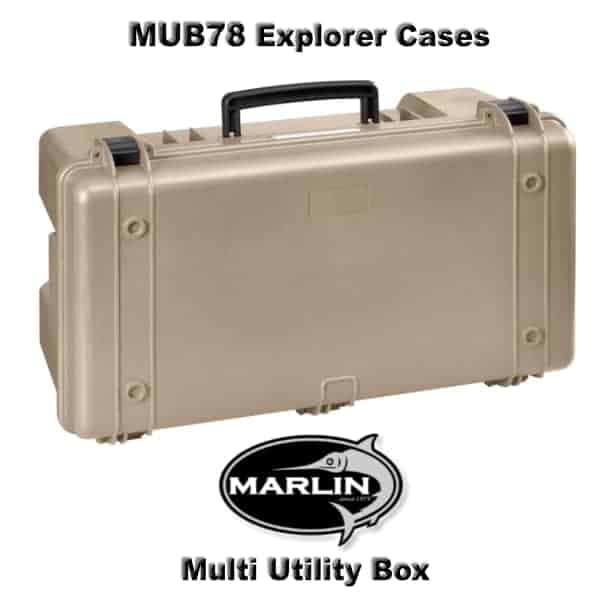 MUB78 Explorer Cases beige