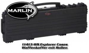 11413 Explorer Cases, schwarz, Waffenkoffer