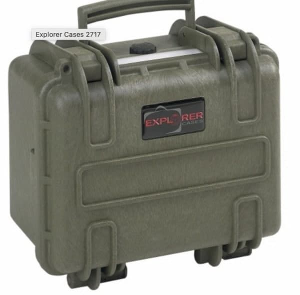 2717 Explorer Case grün
