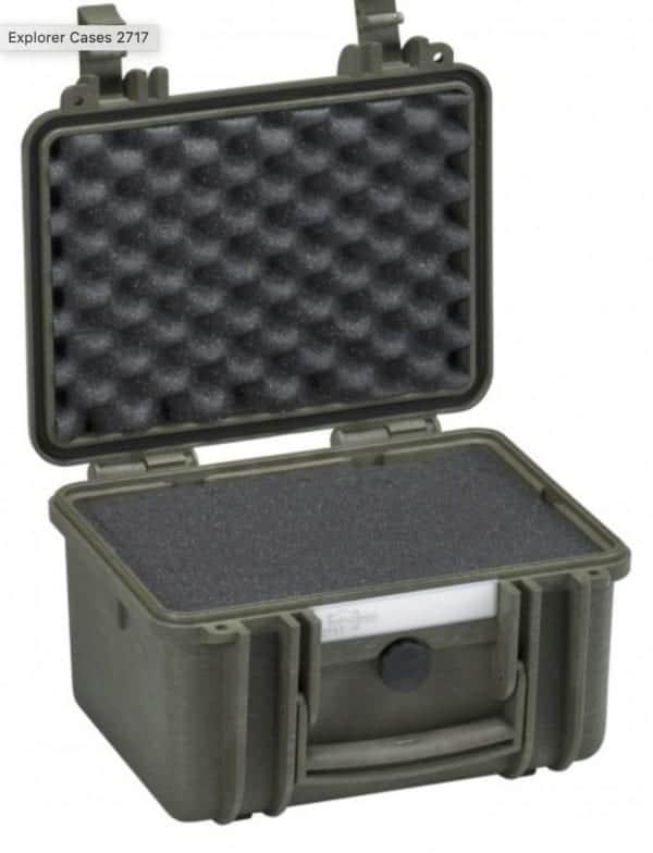 2717 Explorer Case grün Schaumstoff