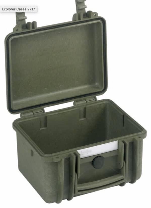 2717 Explorer Case grün leer