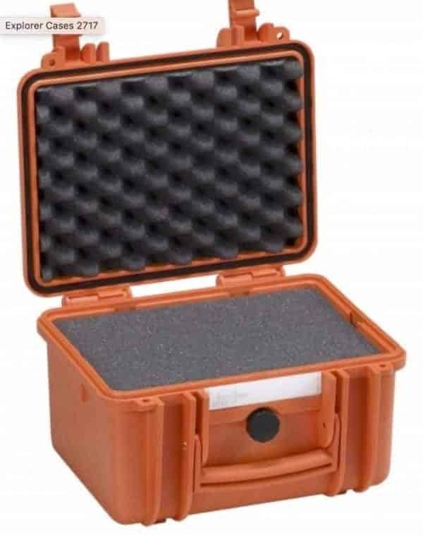2717 Explorer Case orange schaumstoff