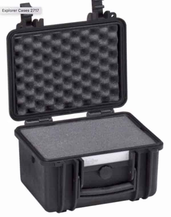 2717 Explorer Case schwarz Schaumstoff