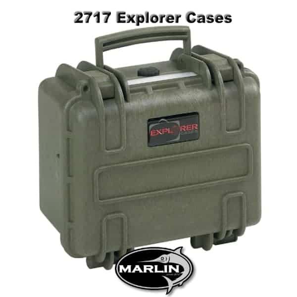2717 Explorer Cases Grün