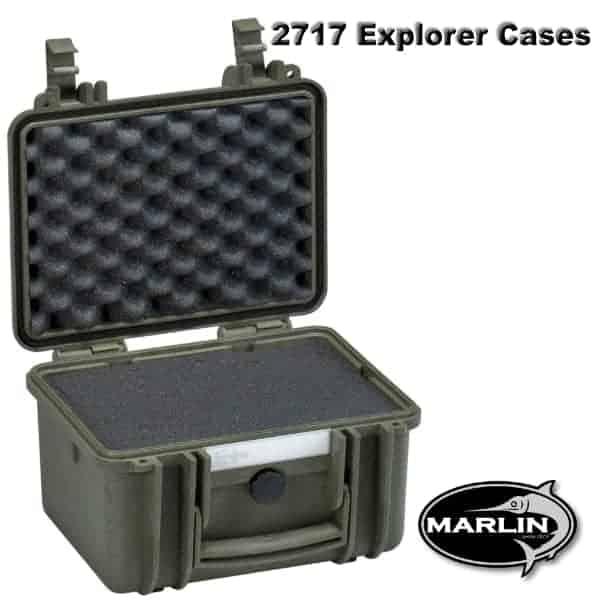 2717 Explorer Cases grün Schaumstoff