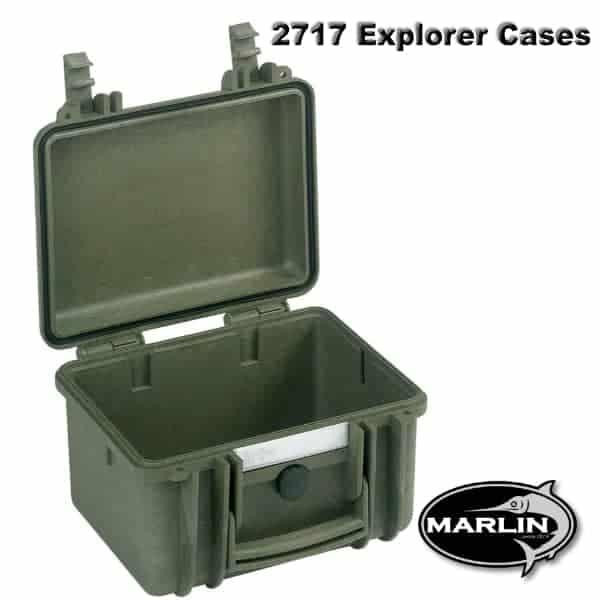 2717 Explorer Cases grün leer
