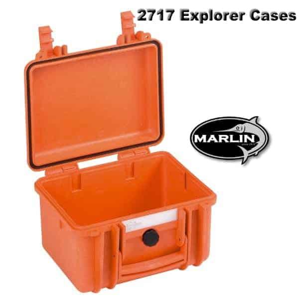 2717 Explorer Cases orange leer