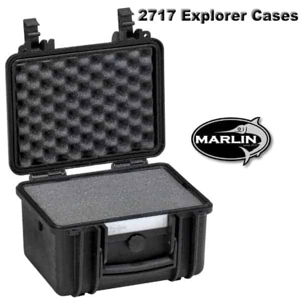 2717 Explorer Cases schwarz Schaumstoff