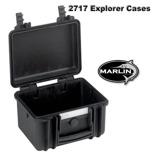 2717 Explorer Cases schwarz leer