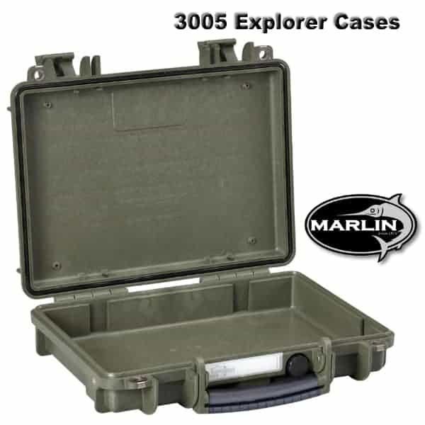 3005 Explorer Cases grün leer