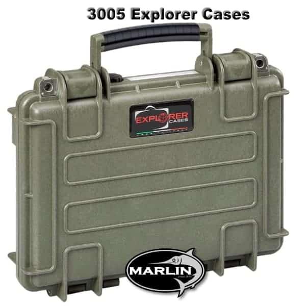 3005 Explorer Cases grün