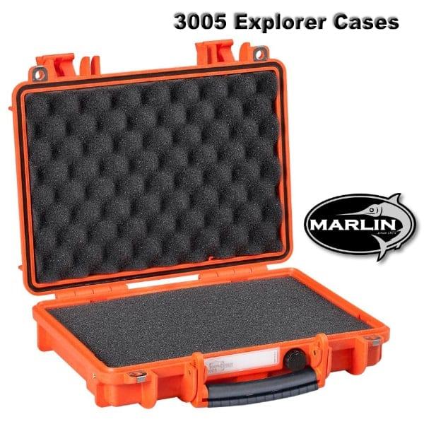 3005 Explorer Cases orange Schaumstoff