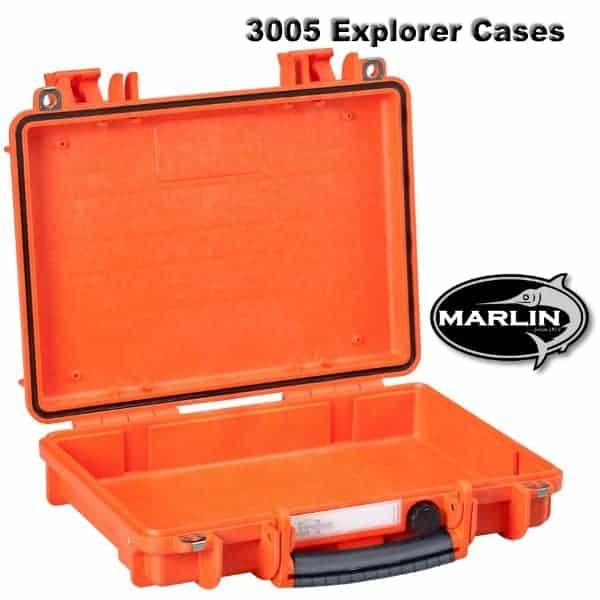 3005 Explorer Cases orange leer