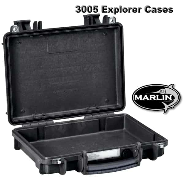 Black Explorer Cases 2712 BE Waterproof Dustproof Multi-Purpose Protective Case Empty
