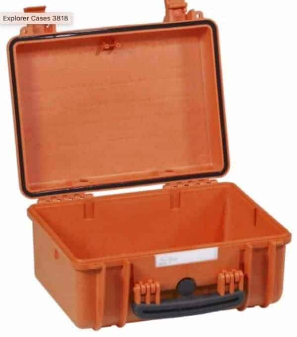 3818 Explorer Case Orange leer