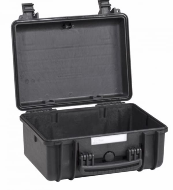 3818 Explorer Cases schwarz, leer