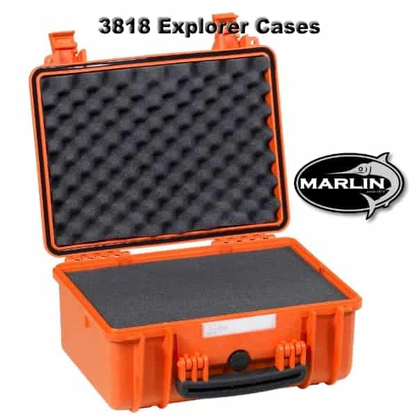 3818 Explorer Cases orange Schaumstoff