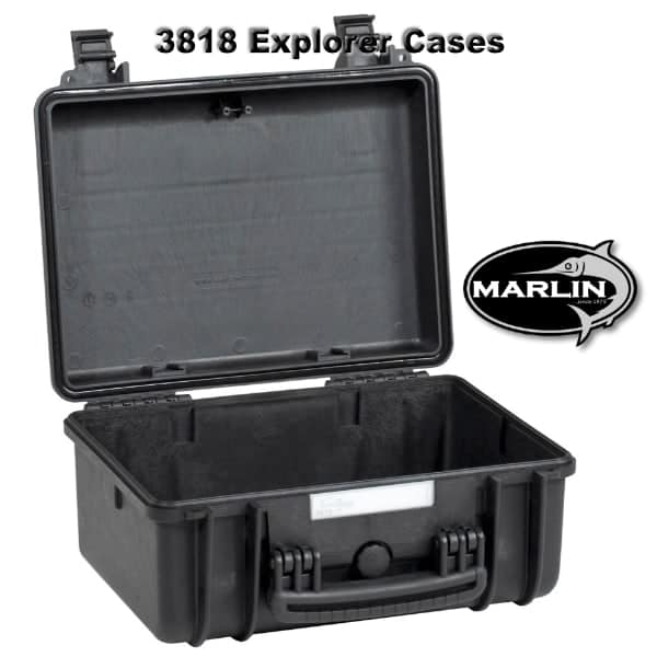 3818 Explorer Cases schwarz leer