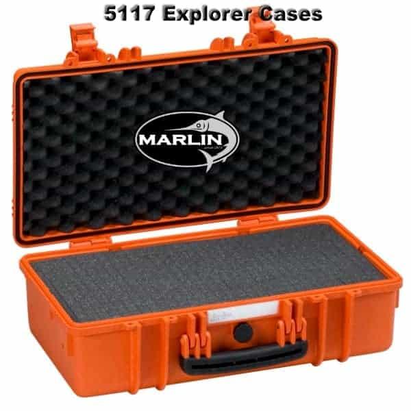 5117 Explorer Cases orange Schaumstoff