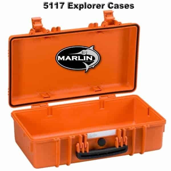 5117 Explorer Cases orange leer