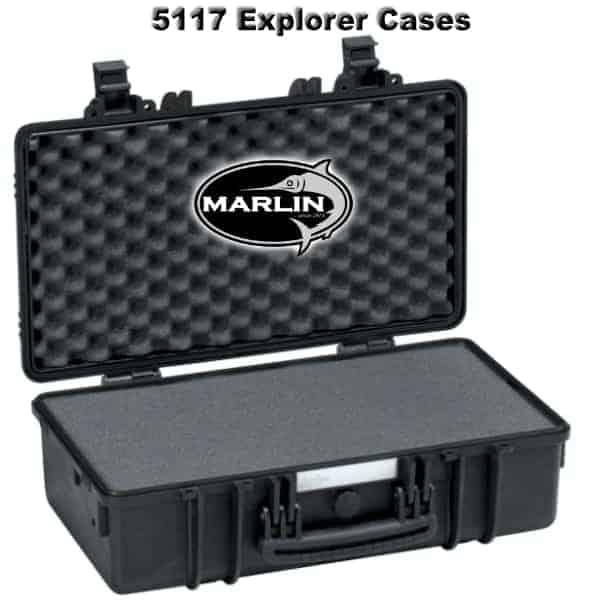 5117 Explorer Cases schwarz Schaumstoff